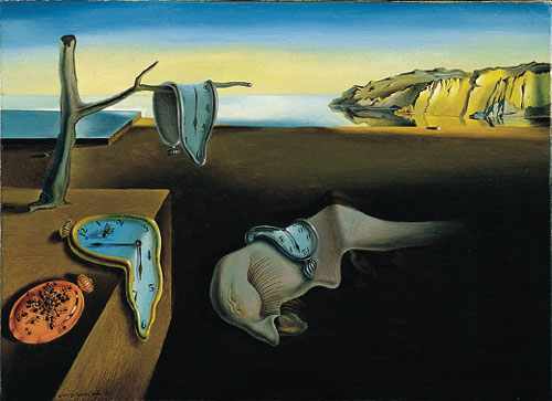The Persitence of Memory by Salvador Dali