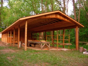 CEF Woodcraft Camp Craft Pavillion