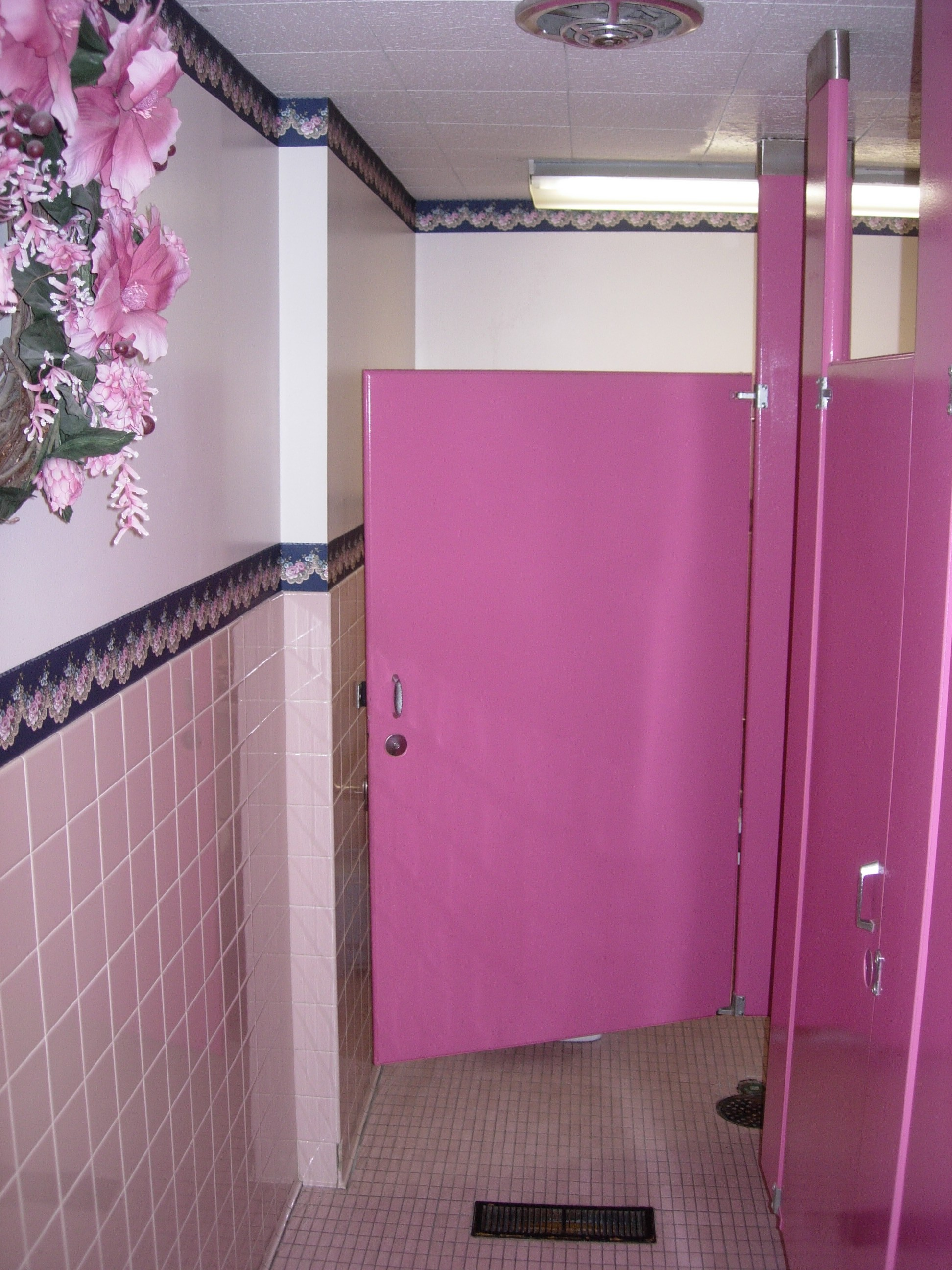 Existing Womens Restroom