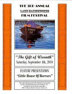 Lake Maxinkuckee Film Festival Brochure