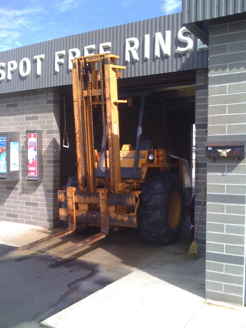 Forklift Wash 1