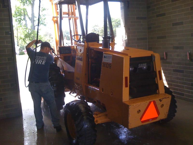 Forklift Wash 2