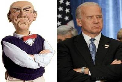 Joe Biden and Walter Dunham are Twins!