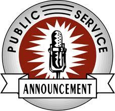 Public Service Anouncement