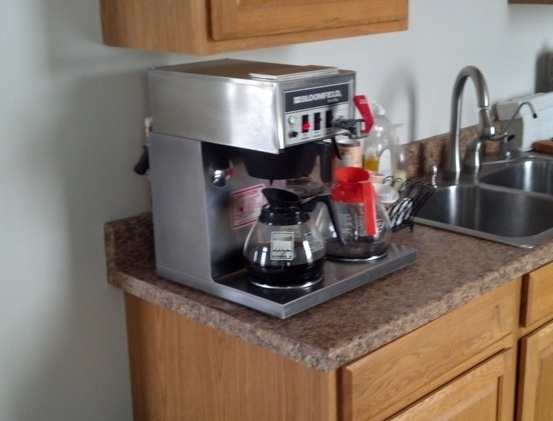 Office Coffee Maker Rules : Roger s Plan Lofn s Bard
