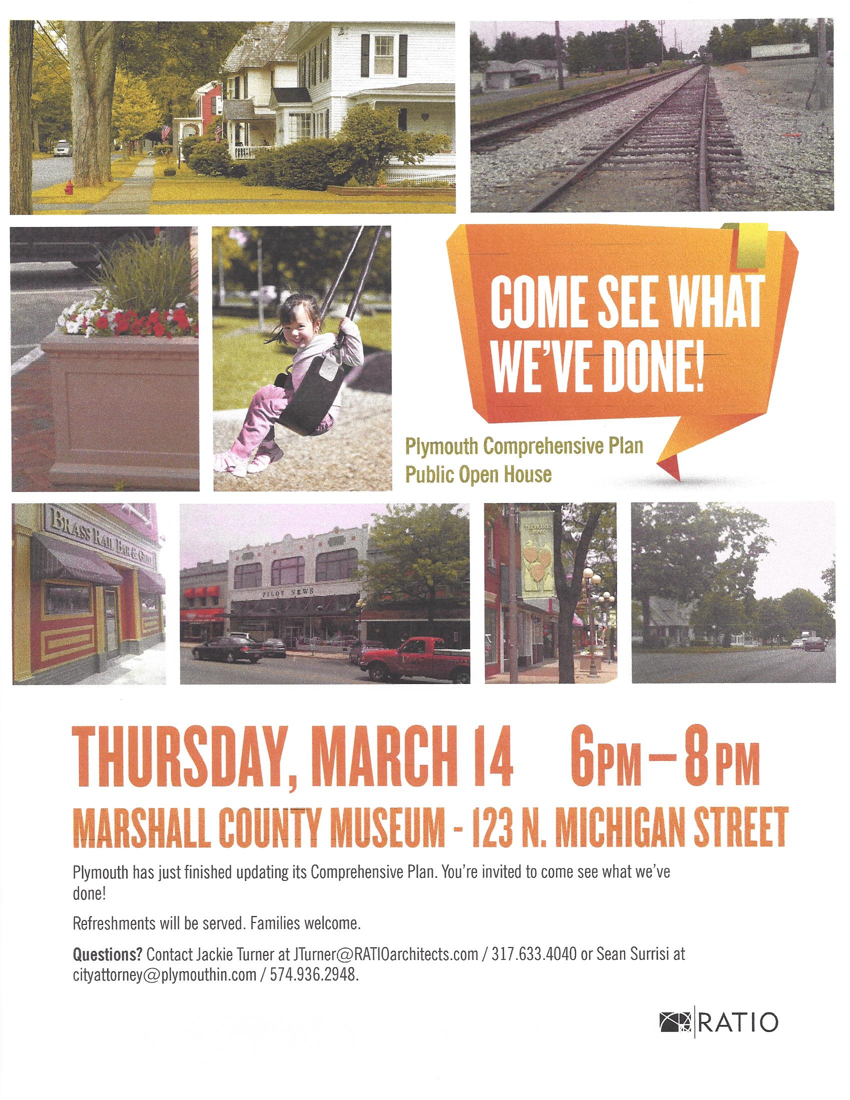 Plymouth Comp Plan Open House Flyer 3-14-13