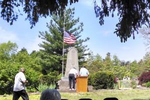 Fletcher Cemetery Memorial 5-26-14
