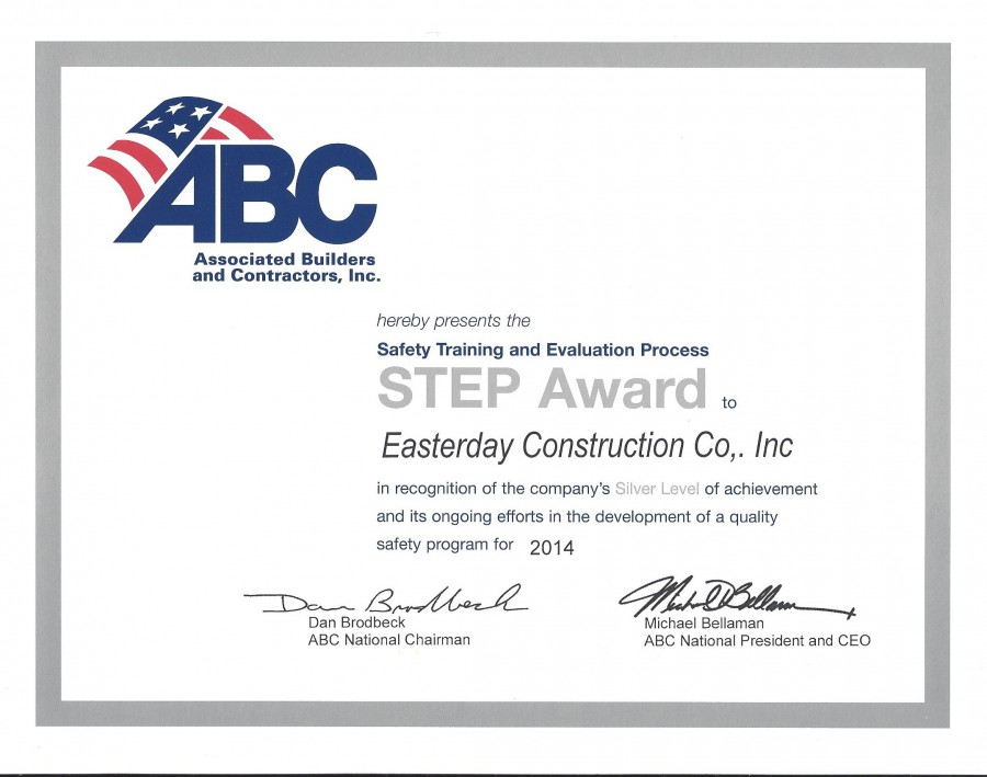 ABC STEP Award 2014