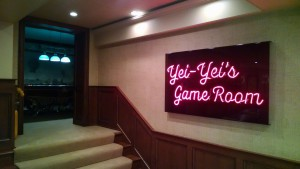 Yei-Yei's Game Room Sign 2