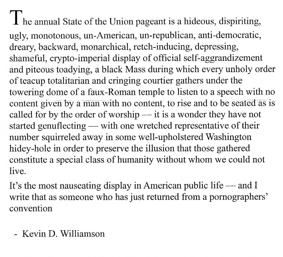 Kevin D. Williams on State of the Union 1-28-14