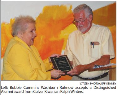 Bobbie Ruhnow - Distinguished Citizen '09