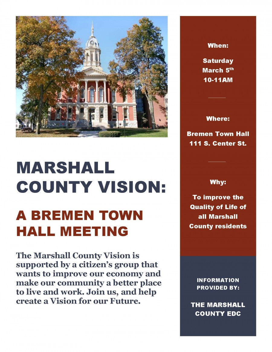 Bremen Town Hall Flyer