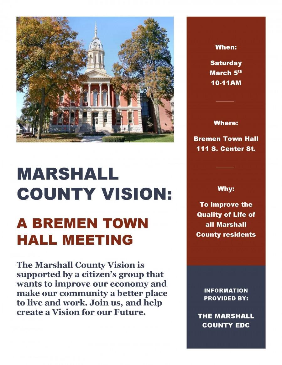 Bremen Town Hall Flyer
